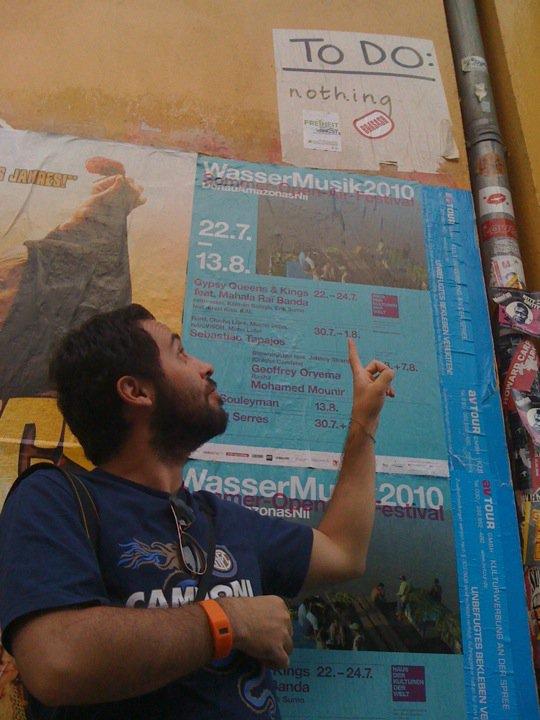 Berlin 2010 - Gli obiettivi prima degli spilli