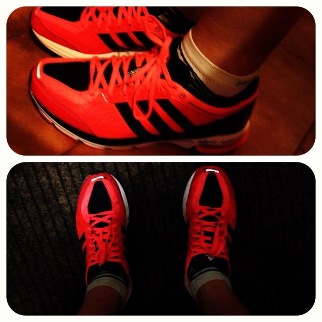 Anche le scarpe nuove aumentano il piacere delle ripetute